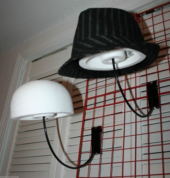 Hat Display Cap Store And Display Block On Pinterest