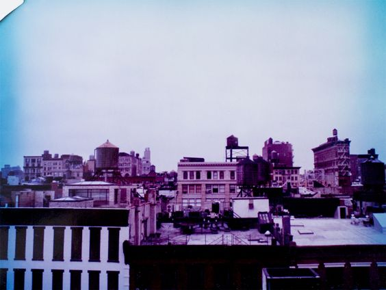 NYC rooftops. - Leila Peterson
