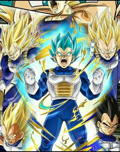 Dragon Ball Super Vegeta Blue Evolution Wallpaper