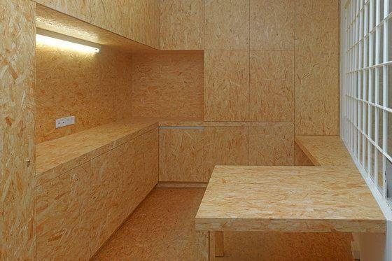 Osb board kitchen cocinas pinterest galeries for Interieur osb