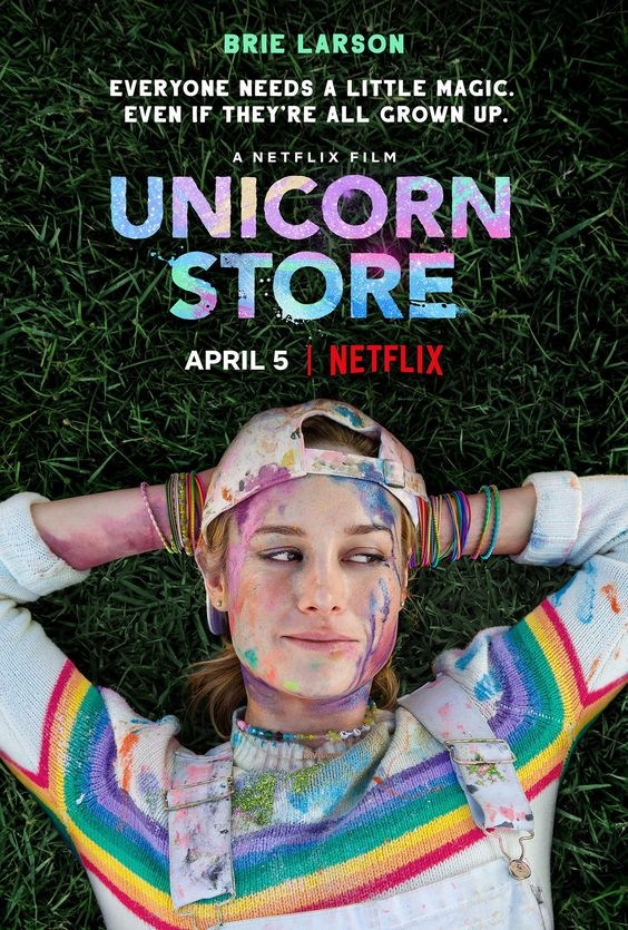 Official Poster for Brie Larson's 'Unicorn Store'