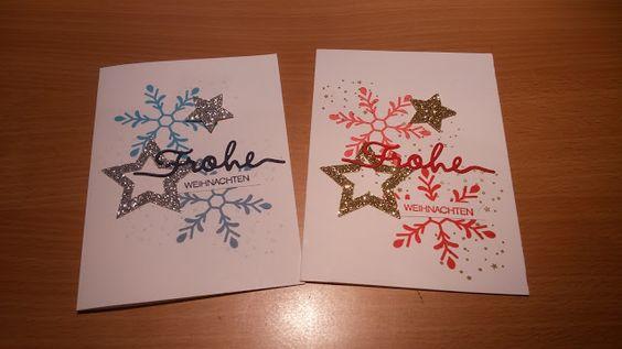 Stempelset winterliche Weihnachtsgrüße, Thinlits Weihnachtliche Worte, Stampin Up