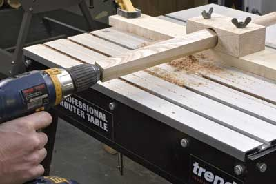 Dowel Making Jig - The Woodworkers Institute