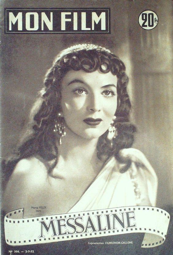 Film 306 Messaline Maria Felix Georges Marchal Michel Barbey 1952 | eBay