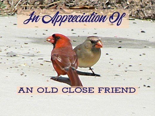 Poem The Pleasure And Joy Of An Old Friendship With Images