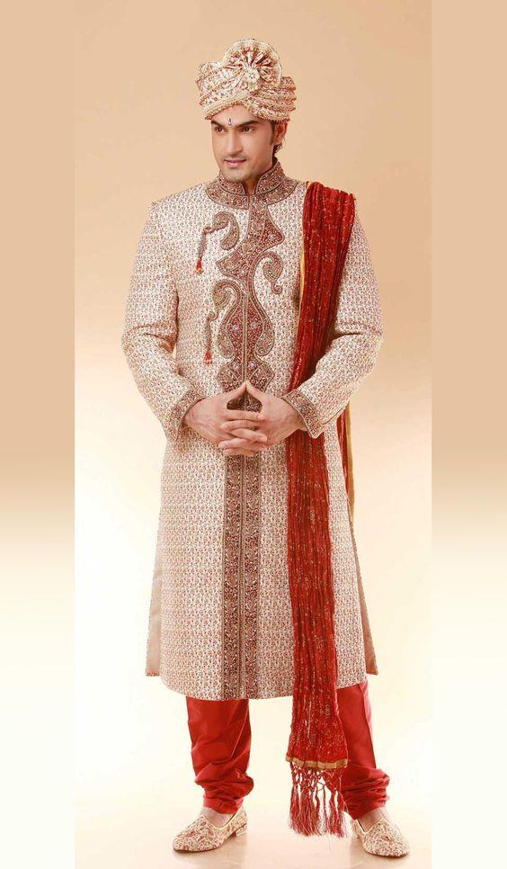 Maharaja Grooms! on Pinterest   Sherwani, Indian Groom and Art Work