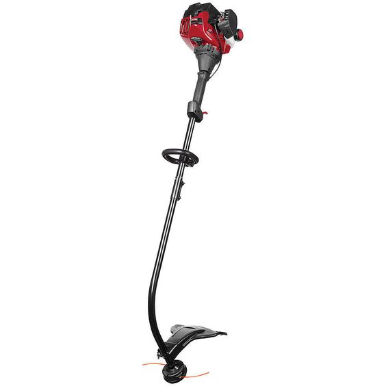 Craftsman Weed Wacker 25cc 2-Cycle Curved Shaft Gas Trimmer Weedeater Red #Craftsman