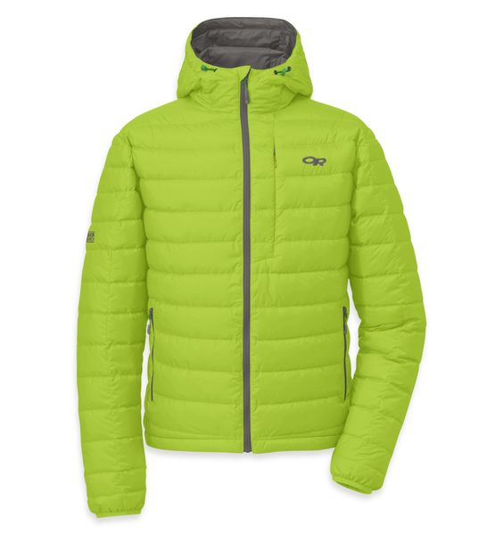 Men's Transcendent Hoody   Outdoor Research: At chilly belays, lunch breaks at a shaded crag, or cool nights on the trail, this is the ultimate ultralight, ultra-packable insulation layer.