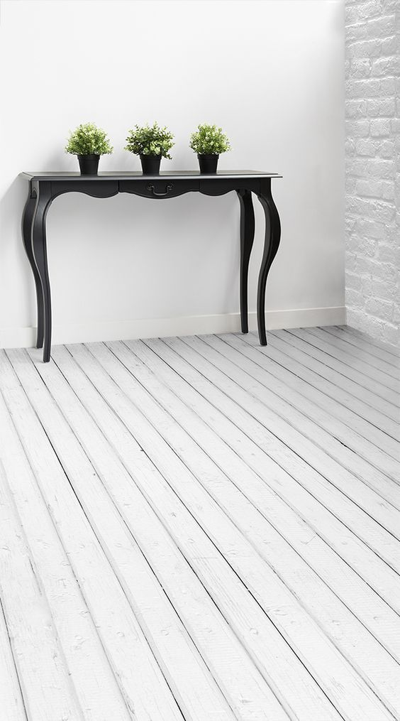 Whitewash Is A Worn White Wood Vinyl Flooring Design That Features Rough Rustic Planks Of Wood W Vinyl Flooring Vinyl Flooring Kitchen White Laminate Flooring