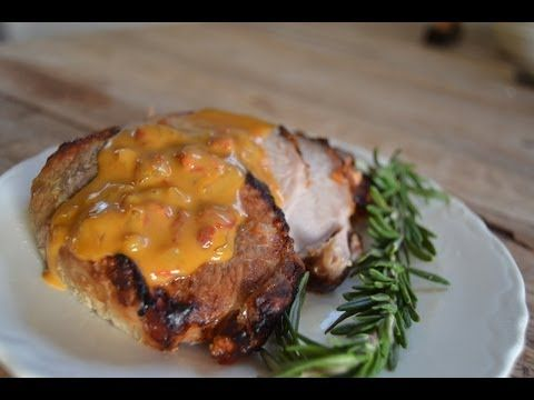 #NaturallyAmazing Honey mustard glazed pork and the most amazing cream sauce you've ever tasted