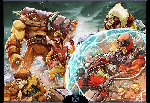Magneto Presides Brotherhood of Evil Mutantsby Eddie Nunez//... #comics #art