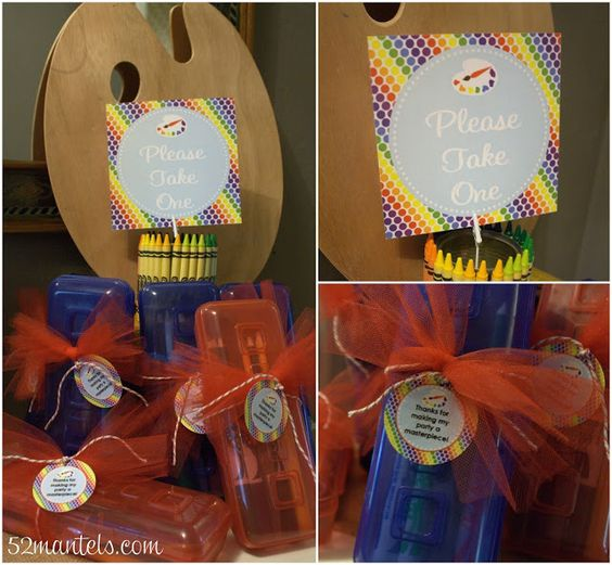 Art Party Details   DimplePrints Giveaway!