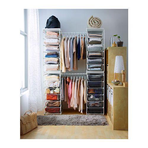 the closet closet and storage on pinterest. Black Bedroom Furniture Sets. Home Design Ideas