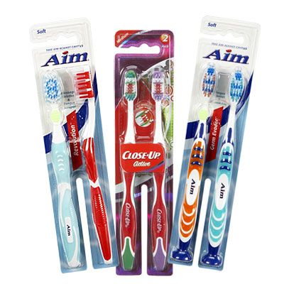 Assorted Name Brand 2-Pack Toothbrushes at Big Lots. #BigLots