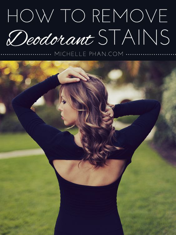 Quick tip how to remove deodorant stains stains jokes for How to remove antiperspirant from shirts