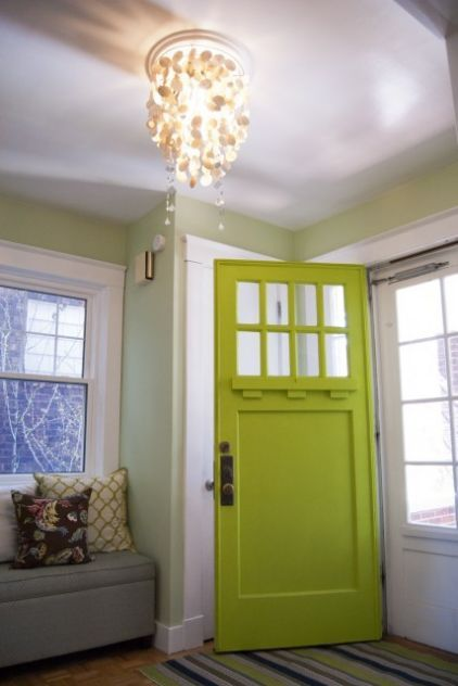 oh the green door. I love it!