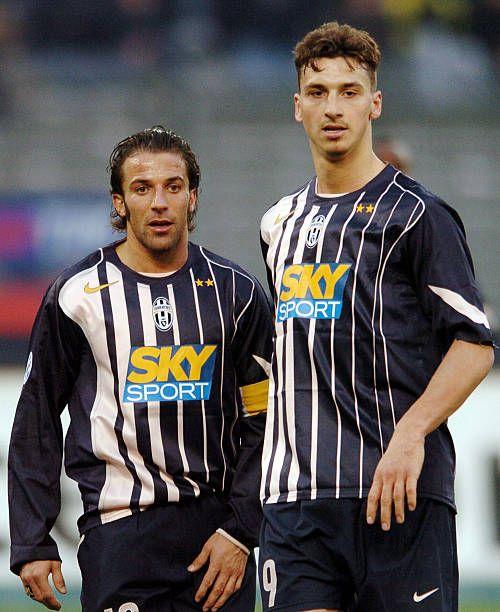 Zlatan Del Piero Juventus Zlatan Ibrahimovic Juventus Alessandro Del Piero