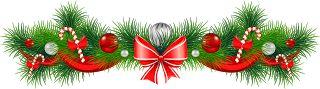 Коллекция картинок: Рождественские гирлянды (огромные!)