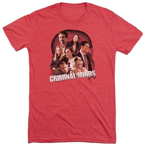 Criminal Minds Brain Trust Adult Tri-Blend T-Shirt