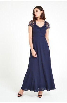 Louche Luxe Alissa Lace Maxi Dress