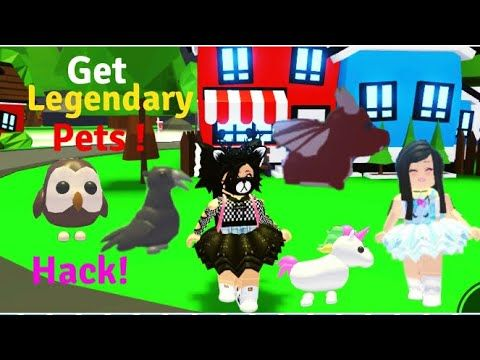 Testing Hack To Get Legendary Pets In Adopt Me It Worked Youtube In 2020 Pets Adoption Hacks