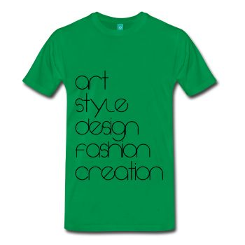 Art, Style, Desing, Fashion, Creation - Men's Premium T-Shirt