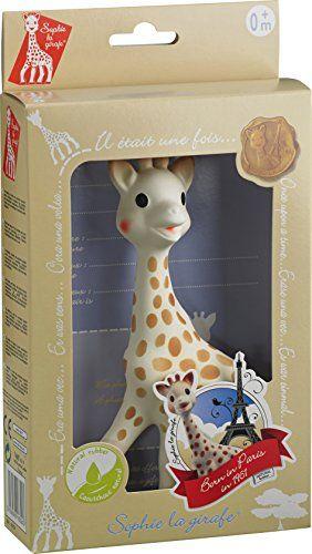 Vulli Sophie giraffe in Natural Rubber