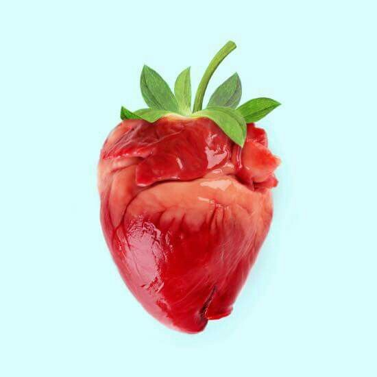 Strawberry Heart by Paul Fuentes