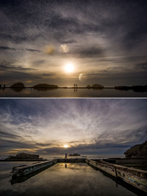 Sutro Baths San Francisco Engagement Photography 4 by Brian MacStay Photography! Genius.