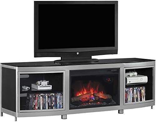 Amazing Offer On Classicflame Gotham Tv Stand Tvs 80 Silver