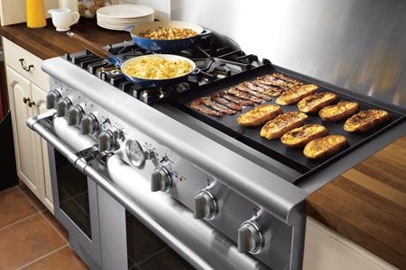 Do I want a built in griddle in my kitchen?  Yes please!