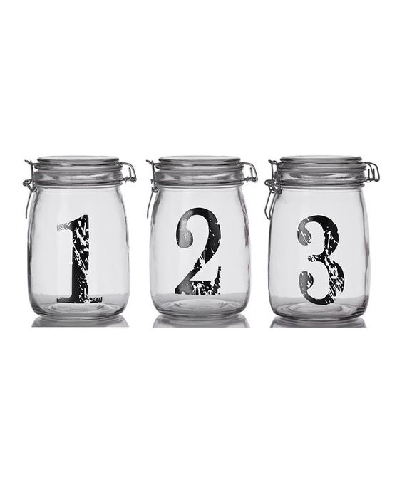 Look at this Vintage Number Bail & Trigger Jar Set on #zulily today!