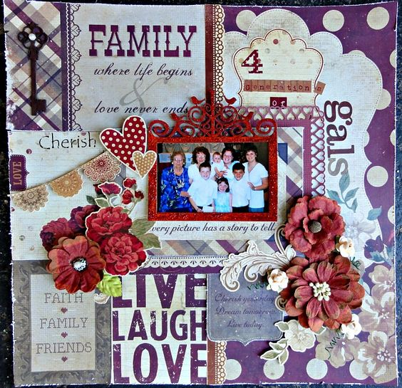 I created this layout using simple stories generation collection for their blog challenge. You can this collection sold at THE HENS DEN..:)