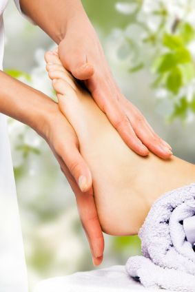 How to Pamper Your Feet - take your mind off your back pain and pamper your feet. It's a nice little break to have something feel good.