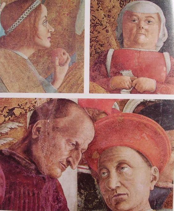 Andrea mantegna camera degli sposi 1460 64 mantova for La corte dei gonzaga mantegna