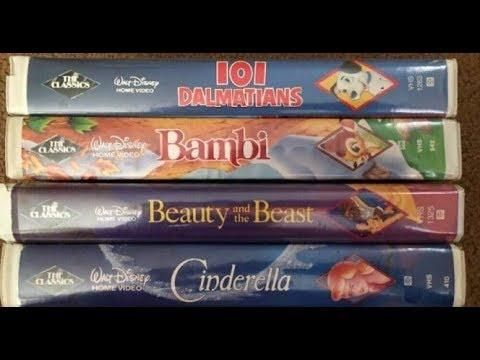 Lucky People Who Kept Their Old Disney Vhs Tapes Could Make A Fortune Disney Vhs Tapes Vhs Tapes Vhs