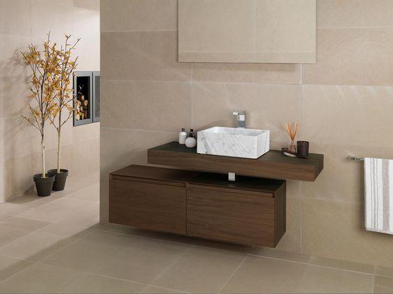 Mobilier por la salle de bains  PORCELANOSA  salle de bain 1er ...