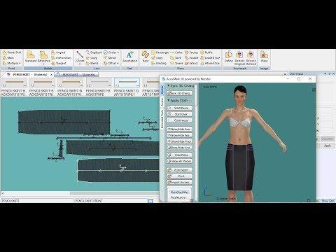 شرح برنامج كيربر Gerber Accumark الدرس الاول Youtube Pandora Pandora Screenshot