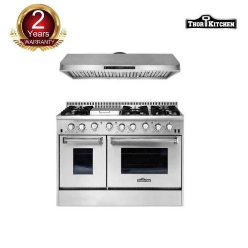 Thor Kitchen 48 Gas Range48 Under Cabinet Range Hood Stainless Steel Cooktop Stainless Steel Cooktop Stainless Range Hood Under Cabinet Range Hoods