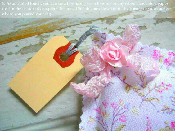 Mother's Day Craft - Sachet