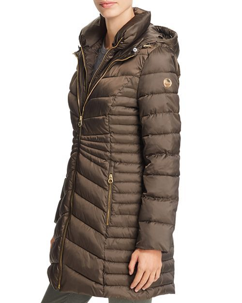 Laundry by Shelli Segal Packable Lightweight Quilted Puffer Jacket,Black Small