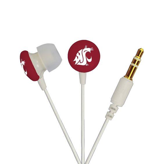 AudioSpice Ignite In-Ear Headphones - Washington State University Cougars