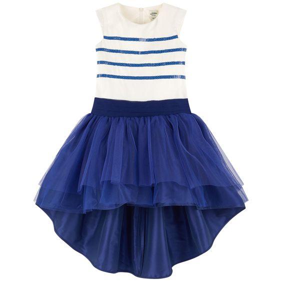 Mini Me silk taffeta dress