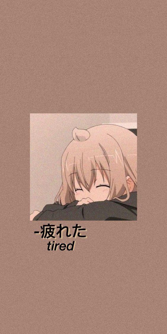 Tired So Pls Relax Aesthetic Anime Anime Wallpaper Vintage Cartoon