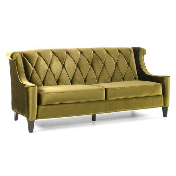 Barrister Sofa Green furniture, green, sofas