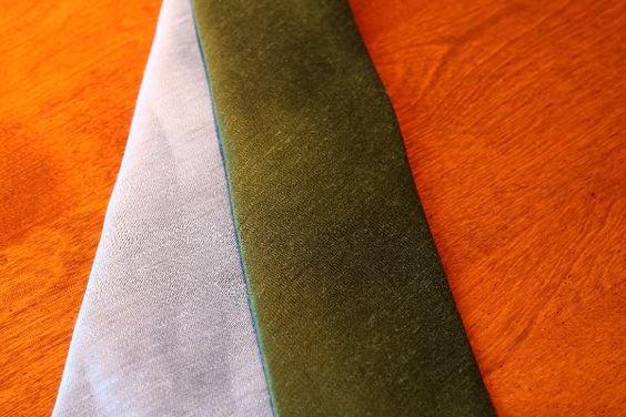 A Sam (and David) Hober Tie Appreciation Thread, Powder Blue Linen, Forest Green Linen