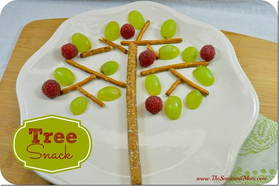 Arbor Day Tree Snack and Story Time  www.TheSeasonedMom.com: