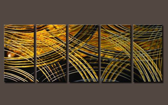 $200.00 modern metal wall scupture/painting