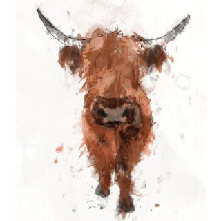 scottish highland cow paintings - Google Search