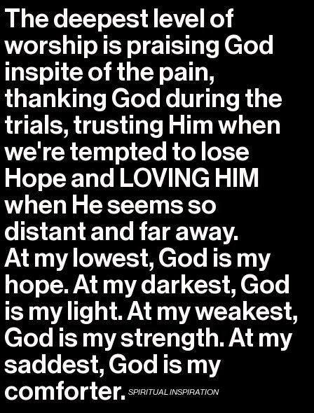Love God Always: